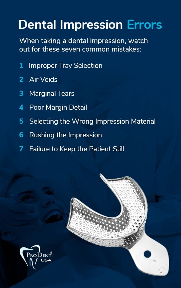 Dental Impression Errors