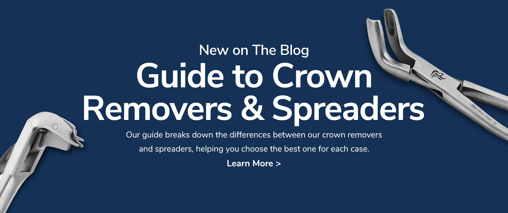 Guide to Crown Removers & Spreaders - Learn More