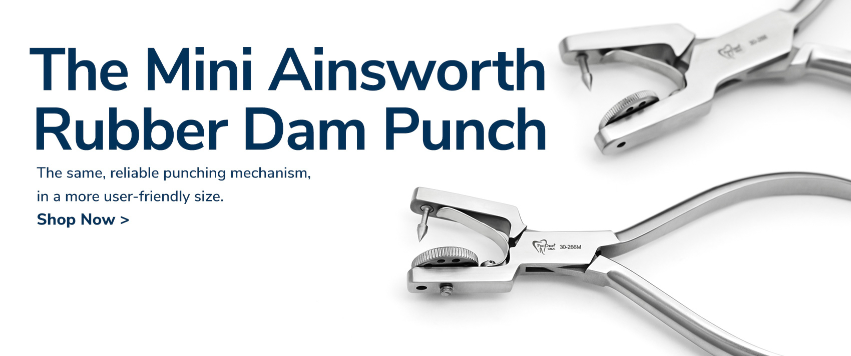 The Mini Ainsworth Rubber Dam Punch, Shop Now
